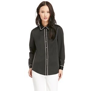 FINDERS KEEPERS Bright Side Shirt | Black